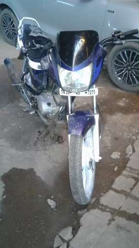 Good running condition no insurance  tryes are not good milage.55