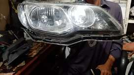 Front Head light HID Booster