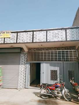 9Marla  House Attached 2 Shop For Sale In   wakeel kaloni  Rawalpindi