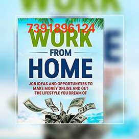 Handful of income from home by part time work