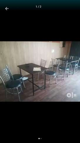 4 tables and 16 chairs very gud condition