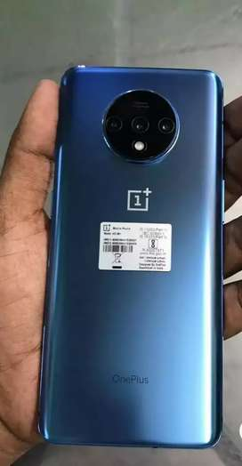 OnePlus 7T  8GB RAM, 128GB storage available with warranty and Bill