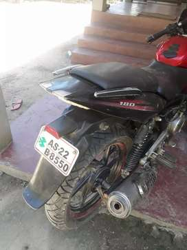 180 pulsar bike paper all clear condition good