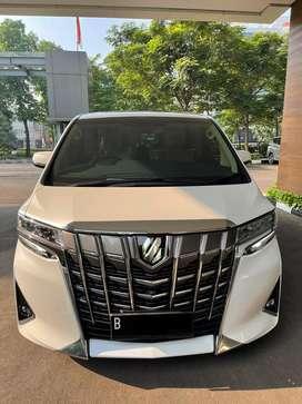 Toyota Alphard 2.5 G ATPM Nik 2019