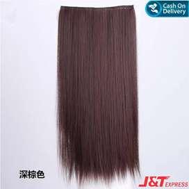 BAYAR DIRUMAH!!! Hair Clip Lurus - Coklat Tua