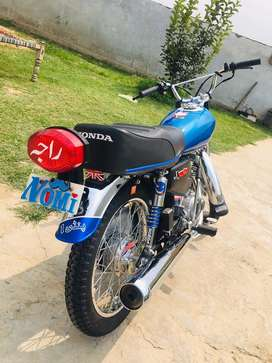 Honda 125 new condition Rs. 130,000/-