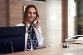 Required Female Receptionist