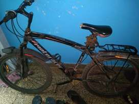 Motoracer racing bicycle with gaire 18