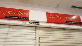 Dijual cepat 2 unit kios lantai UG tangerang city mall
