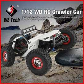WL Toys XK 12429 4WD LED vs 12428 WL Tech 12429 RC Car Mobil Offroad
