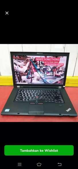 Laptop workstation lenovo W520 core i7 ram 8gb