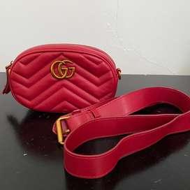 [Preloved] Gucci GG Marmont Matelasse Belt Bag Tas Pinggang Premium