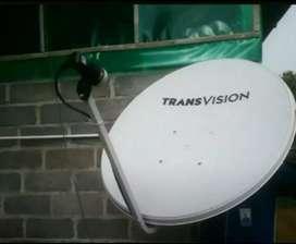 Parabola Transvision Pekanbaru paket setahun hemat free instalasi
