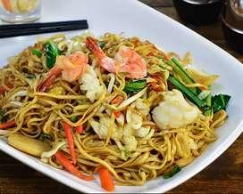 Lowongan waiter / helper Masakan Chinese