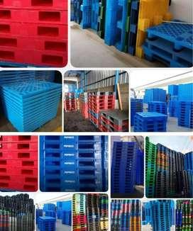 Distributor pallet plastik semua ukuran baru/bekas harga terjangkau