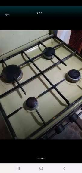 4 stove gas oven