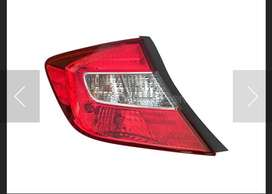 Honda civic 2015 model back light 10/10 condition and front audi style