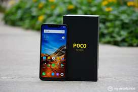 Poco f1# 6 128gb one year exange  available