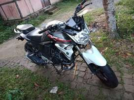 selling...My new FZs bike. Good maintaine and well millege. No problem