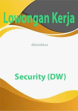 dibutuhkan segera Security (DW)