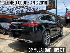 Mercedes Benz GLE 400 COUPE AMG 2016 AT Hitam Mercy GLE400 TOP Kondisi