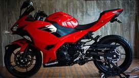 Ninja 250cc Red all new fi