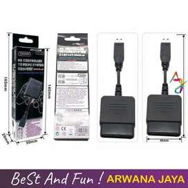Converter USB 1 Slot Stik Stick PS2 ke PS3 / PC Single