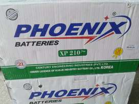 Phoenix XP-210 New battery Free home delivery nd free battery fitting