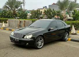 Mercedes Benz C240 2.6 AT 2005 Hitam Termurah [Genap]