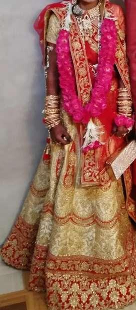 Chaniya choli (gold plated)