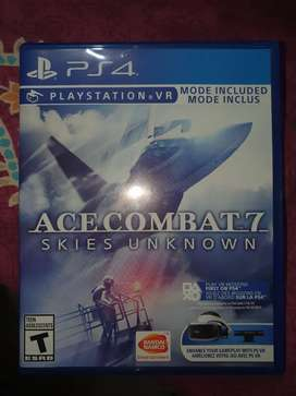 Ace Combat 7 skies unkown Ps4