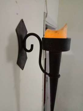 Anituqe Style Wall mount Gothic Torch lamp available for sale