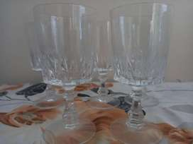 5 Fancy Crystal glass from Canada