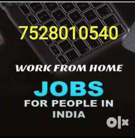 Freedom to work from home online