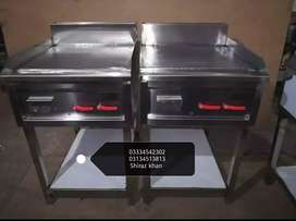 2 feet hotplate 2 feet grill combo unit half body