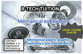 BTech tuition for mechanical engineering