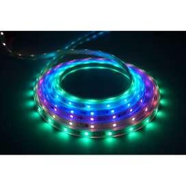 Led Strip RGB Running 5050 Set + IC Pintar Otomatis +Adaptor 3A
