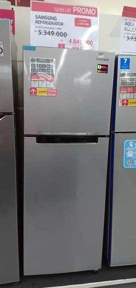 Kredit Kulkas Samsung 2 Pintu Bunga 0% Proses 3 Menit
