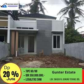 Rumah siap bangun bandar Lampung
