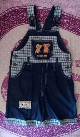 Preloved :Baju celana Jeans Jumpsuit untuk cowok/cewek