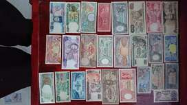 Uang kertas jadul 26 lembar..