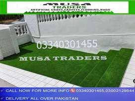 Artificial grass with latest rubber and net backing fresh stocks