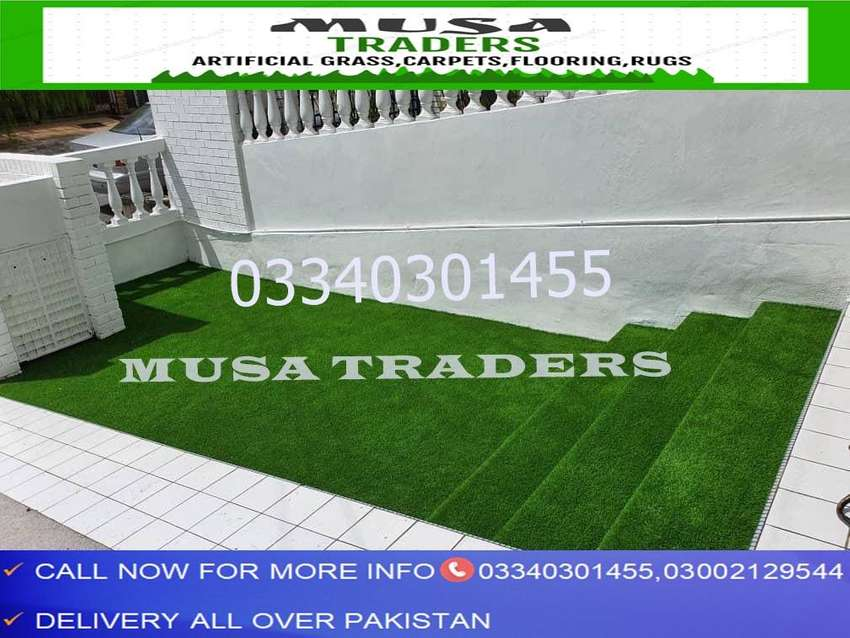 Artificial grass with latest rubber and net backing fresh stocks 0