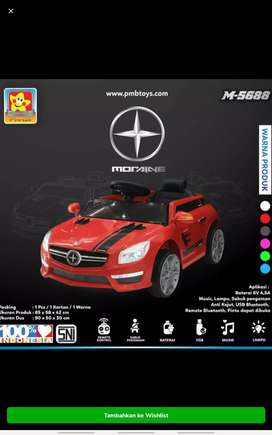 Mainan mobil aki Moraine pmb 5688