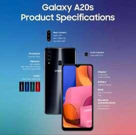 Samsung A20s ram 4/64 GB