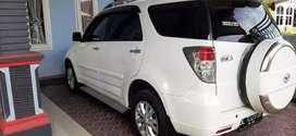 Dijual Terios TX 1.5 manual thn 2012 mobil istimewa