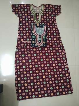 Cotton Nighty all New free size