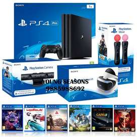 PS4 Pro 1TB PSVR Bundle With 30 Games