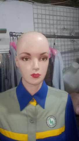 Patung kepala patong anak patong badan