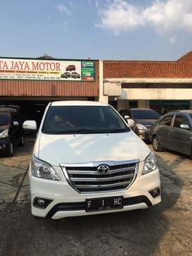 Toyota kijang grand innova 2015 V manual